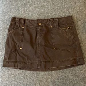 Size 4 Brown Skirt